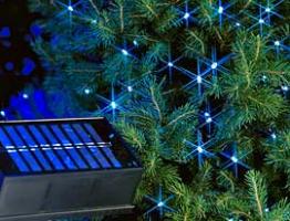 Solární vánoční osvětlení